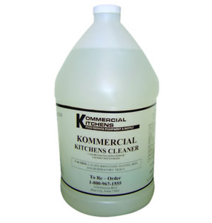 KOMMERCIAL KITCHENS CLEANER 4/CS