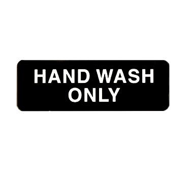 "WINCO 3"" X 9"" SIGN (HAND WASH ONLY)"